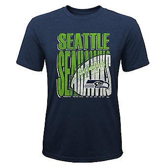 Kids NFL Tri-Blend Shirt - SCORE Seattle Seahawks