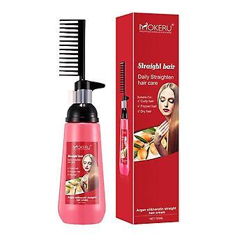 Масляный экстракт, натуральный, разглаживающий релаксатор для волос, выпрямляющий крем для женщин,