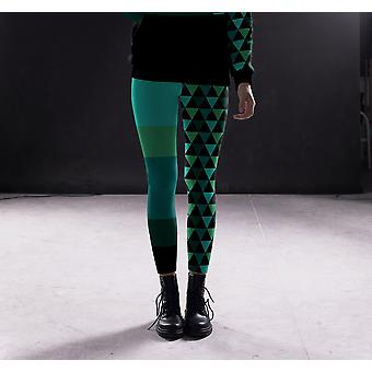 Hosiery geometrio leggings capri's en shorts