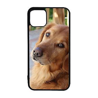الكلب الذهبي المسترد اي فون 12 شل مصغرة