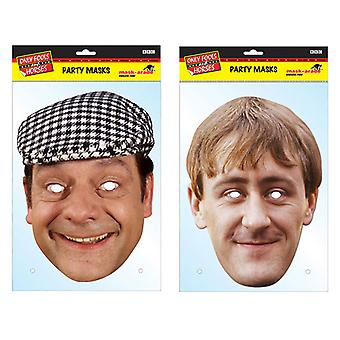 Only Fools and Horses Official 2D Card Party Fancy Dress Masks Variety 2 Pack