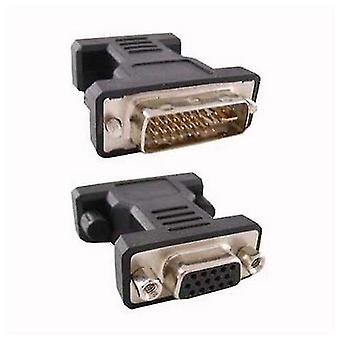 Audio video cable adapters couplers 24 5 dvi converter to vga hdb 15 10.15.0704 Male plug socket