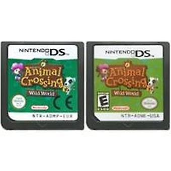 Game Cartridge Console Card Animal Crossing Wild Ds