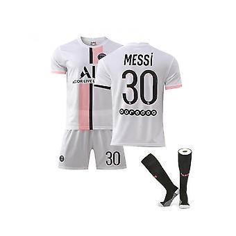 Messi Psg Jersey,paris Team T-skjorte-Messi-30, Paris Team Barneklær