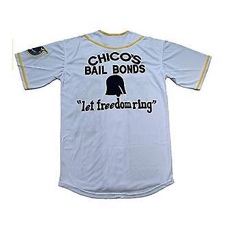 Men's Bad News Bears #12 Tanner Boyle White Movie Baseball Jersey