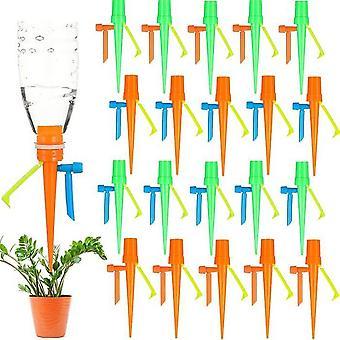 20 אוטומטי צמח השקיה ראש טפטוף ראש התקן השקיה אוטומטי עם הפרעה