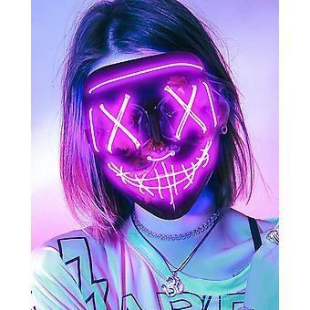 Halloween Led Horror Cool Fashion Mask