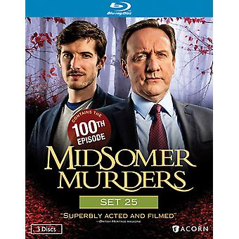 Midsomer Murders Set 25 [BLU-RAY] USA import