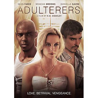 Adulterers [DVD] USA import