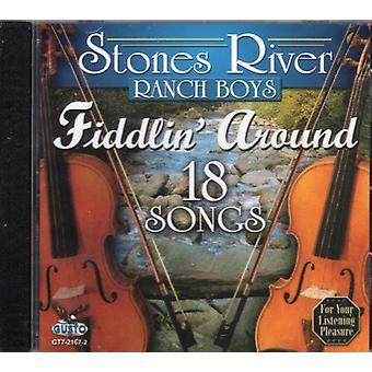 Stenarna River Ranch Boys - Fiddlin runt-18 låtar [CD] USA import