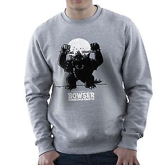 Bowser Unchained Super Mario Bros Men's Sweatshirt