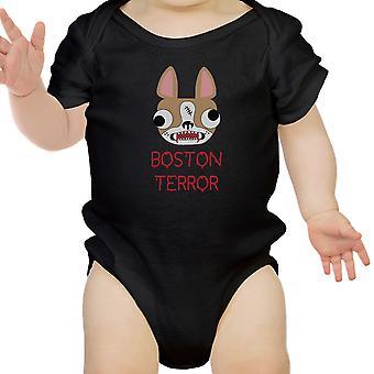 الإرهاب بوسطن جحر بيبي مضحك هالوين القطن ملامستهما هدايا بيبي