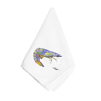 Carolines trésors 8342NAP crevettes serviette bleu vif
