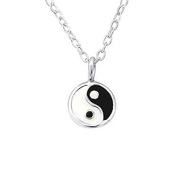 Yin-yang - 925 Sterling Silver Necklaces - W31022x