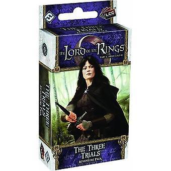 Le Seigneur des anneaux l'extension de jeu de cartes les trois épreuves Adventure Pack
