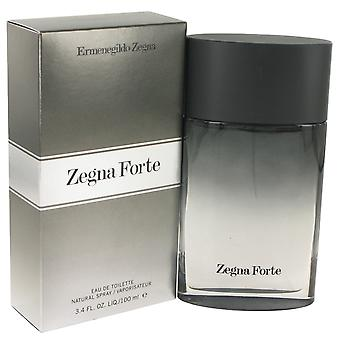 Ermenegildo Zegna Forte Eau de Toilette 100ml EDT Spray