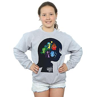 Disney Girls Inside Out Silhouette Sweatshirt