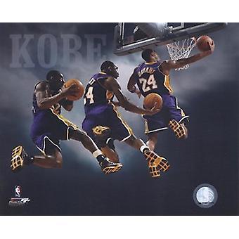 2007 - Kobe Bryant Multi Exposure Sports Photo (10 x 8)