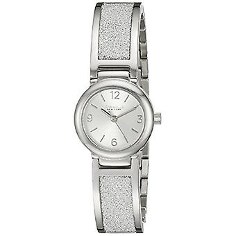 Caravelle New York Women's 43L181 Analog Display Analog Quartz White Watch