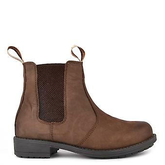 Shepherd of Sweden Sanna Brown Nubuck Leather Boot