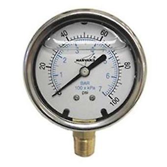 American Granby EILPG1002-4L indicator de presiune umplut cu lichid