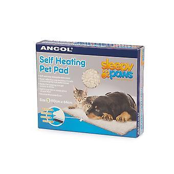 Ancol Self varme Pet Pad til lille hund og kat 48x38cm
