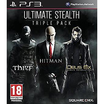 Ultimate Stealth Triple Pack (PS3) - Neu