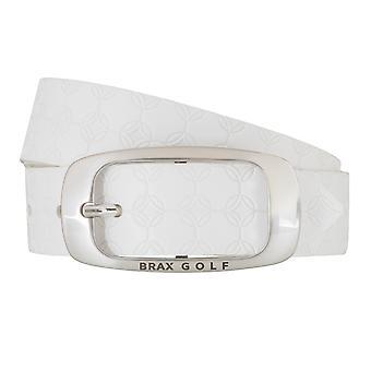 Brax GOLF belt women's belt leather belt women's leather belt white 6260