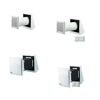 Energibesparende ventilationssystem TwinFresh Standard serien R-50, RA-50, S-60, SA-60 IP24