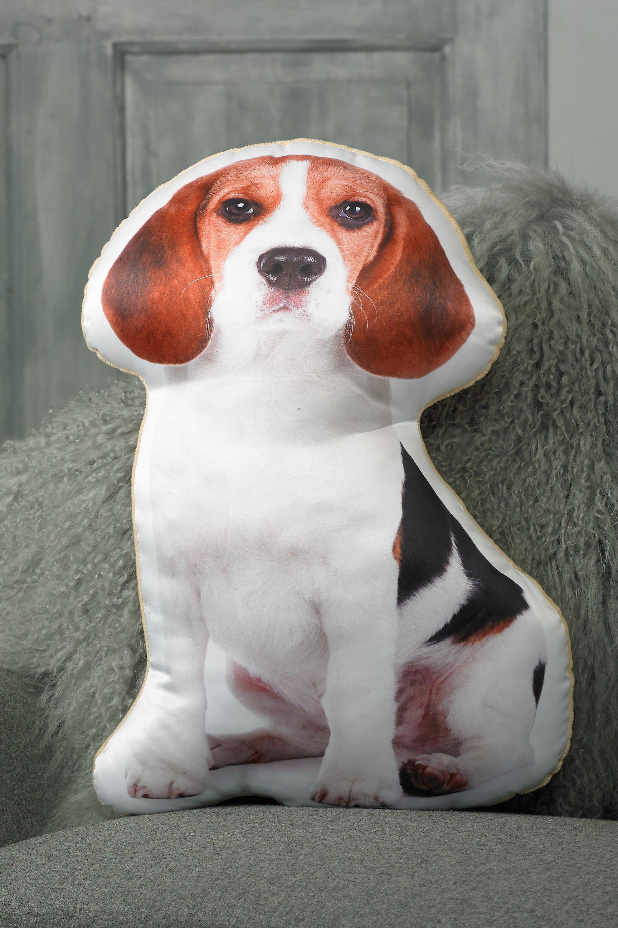 Adorable beagle shaped cushion