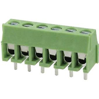 Degson DG350-3.5-03P-14-00AH Screw terminal 2 mm² Number of pins 3 Green 1 pc(s)