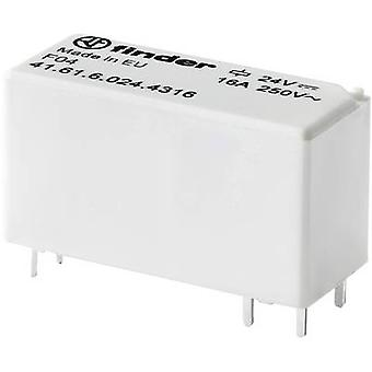 Finder 41.61.6.024.4316 Leiterplattenrelais 24 V DC 16 A 1 Hersteller 1 Stk.