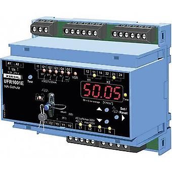 Ziehl UFR1001E Voltage/frequency monitoring relay No. of relay outputs: 2 No. of digital inputs: 1