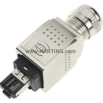 Harting 09 35 226 0401 Sensor/actuator data cable Plug, straight No. of pins (RJ): 4P4C 1 pc(s)