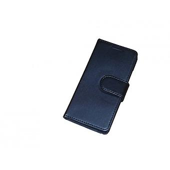 Cell phone case pouch flip cross black for HTC one mini M4
