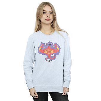 Disney Women's The Descendants Genie Long Live Sweatshirt