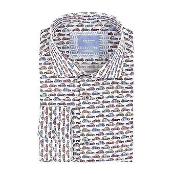 Tresanti ретро автомобили печати Мужская рубашка