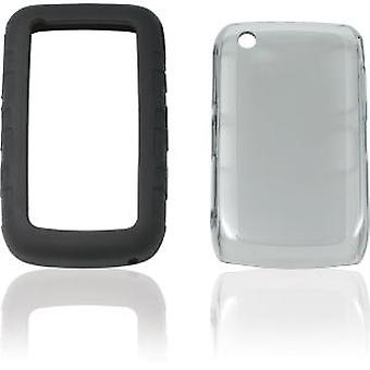 Ventev 3inONE Case for BlackBerry 8520, 8530, 9300, 9330 - Smoke