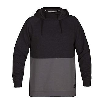 Hurley Crone blockiert Sweatshirt in schwarz Heather