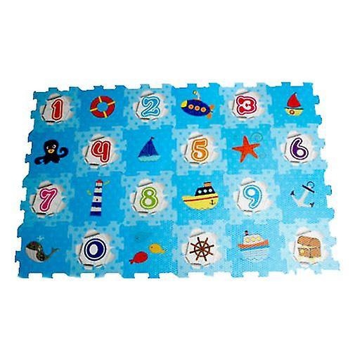 A to Z EVA Number Puzzle Play Mat Soft Foam 93 cm x 62 cm 10m+