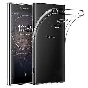 Silikoncase TPU transparent to Sony Xperia XA2 plus protective case cover sleeve pocket