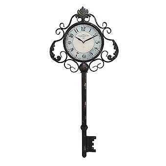 Decorative Antique Key Shaped Wall Clock