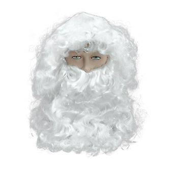 سيتستاندارد الأب عيد الميلاد اللحية/شعر مستعار بنوف