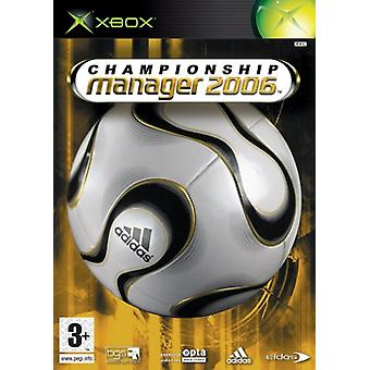 Championship Manager 2006 (Xbox)-nieuw