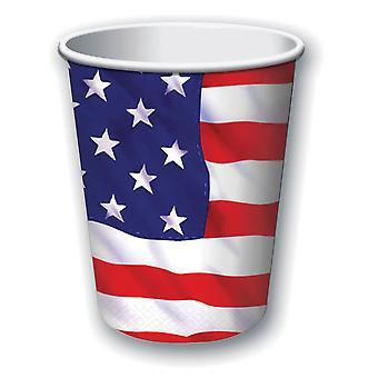 USA Paper Cups 9oz (8pcs)
