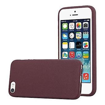 Obudowa Cadorabo do Apple iPhone 5 / iPhone 5S / iPhone SE Case Cover - Futerał na telefon w elastycznym silikonu TPU - Silikonowa obudowa ochronna Ultra Slim Soft Back Cover Case Bumper