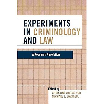 Eksperimenter i kriminologi og loven: en forskning revolusjon