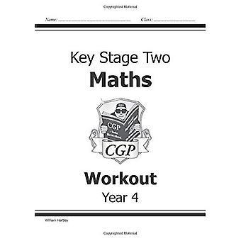 KS2 Quatrième année Maths: carnet d'entraînement