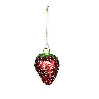 吉塞拉格雷厄姆玻璃草莓可收藏圣诞范围