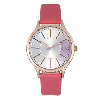 Crayo Gel Unisex Watch - Coral